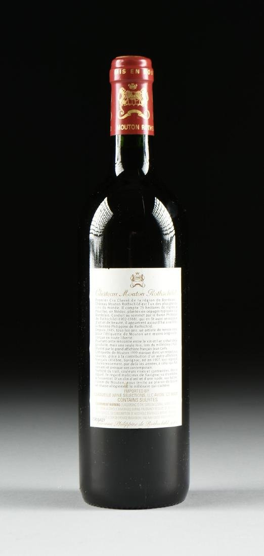 A BOTTLE OF 1999 CHATEAU MOUTON ROTHSCHILD, PAUILLAC, - 4
