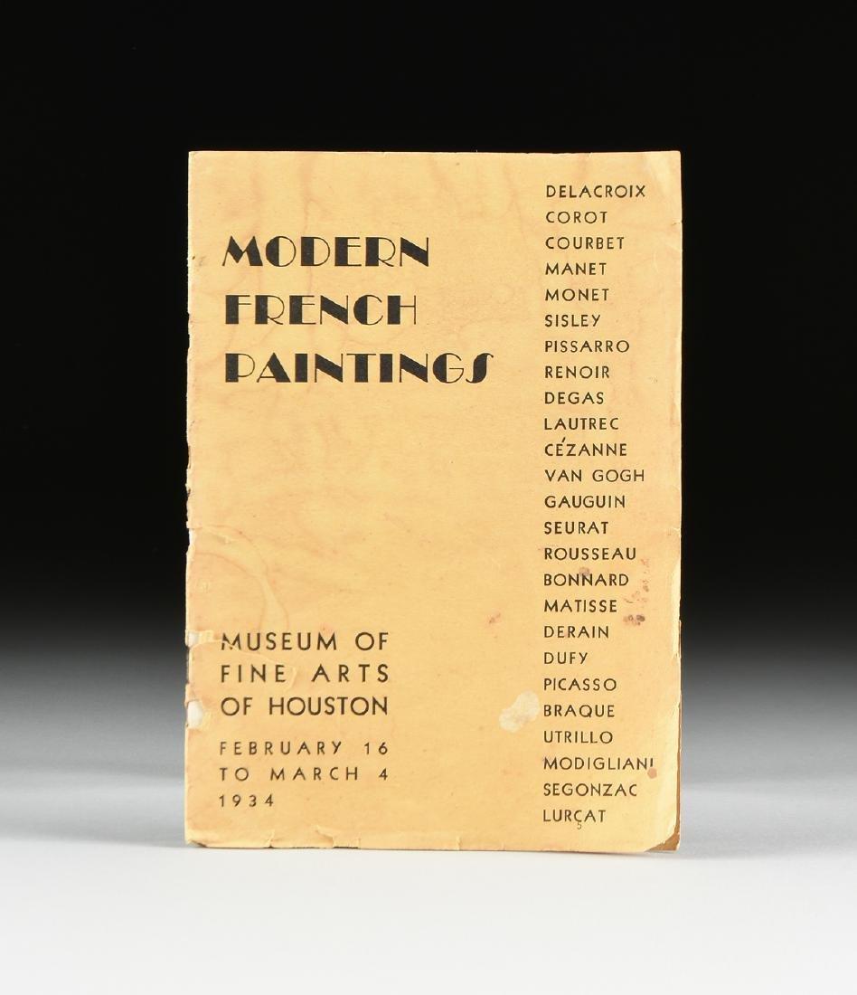 A MUSEUM OF FINE ARTS HOUSTON EXHIBITION CATALOGUE,