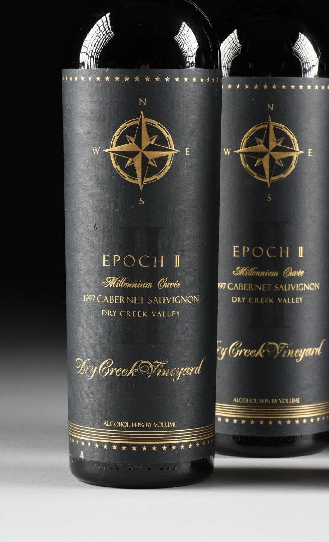A GROUP OF FOUR BOTTLES OF 1997 EPOCH II MILLENNIUM - 4