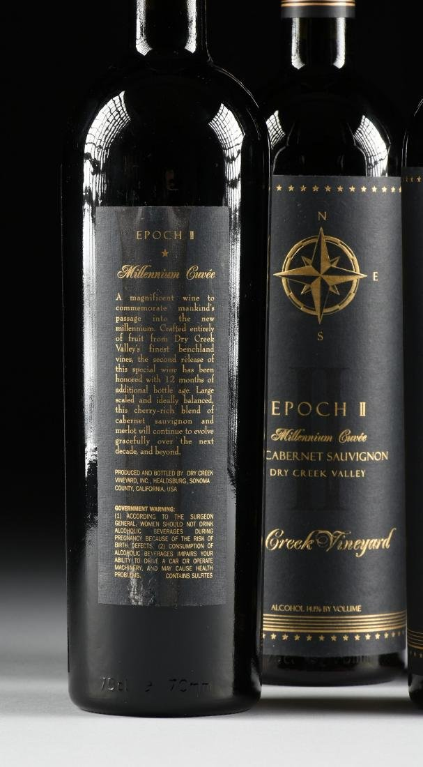 A GROUP OF FOUR BOTTLES OF 1997 EPOCH II MILLENNIUM - 5