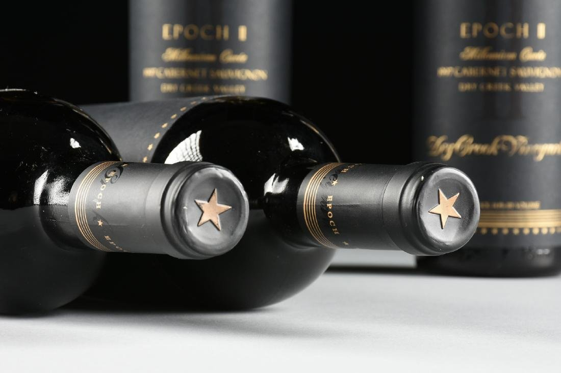 A GROUP OF FOUR BOTTLES OF 1997 EPOCH II MILLENNIUM - 6