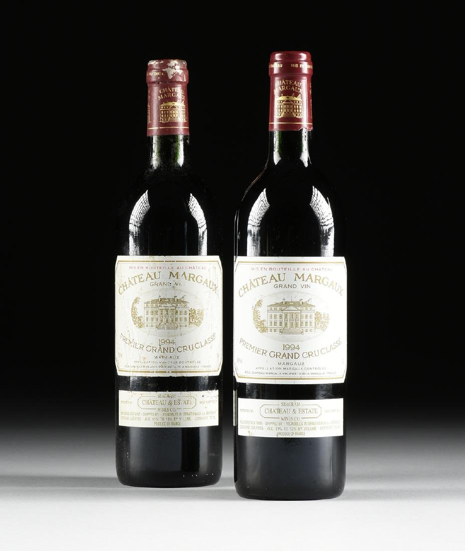 TWO BOTTLES OF 1994 CHATEAU MARGAUX, PREMIER GRAND CRU