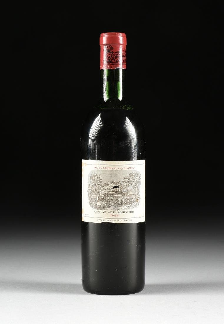 A BOTTLE OF 1968 CHATEAU LAFITE-ROTHSCHILD, PAUILLAC,