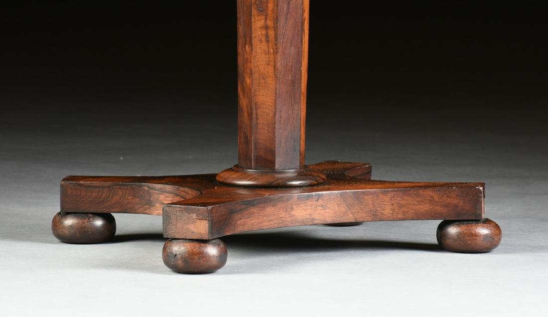A SOUTHERN EARLY CLASSICAL ROSEWOOD PARQUETRY INLAID - 7