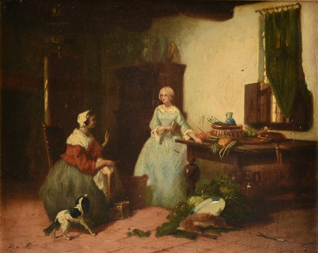 attributed to DAVID DALHOFF NEAL (American 1838-1915) A