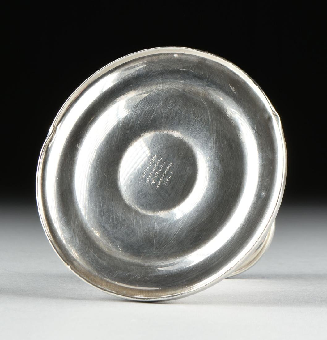 A GROUP OF FOUR INTERNATIONAL STERLING SILVER - 9