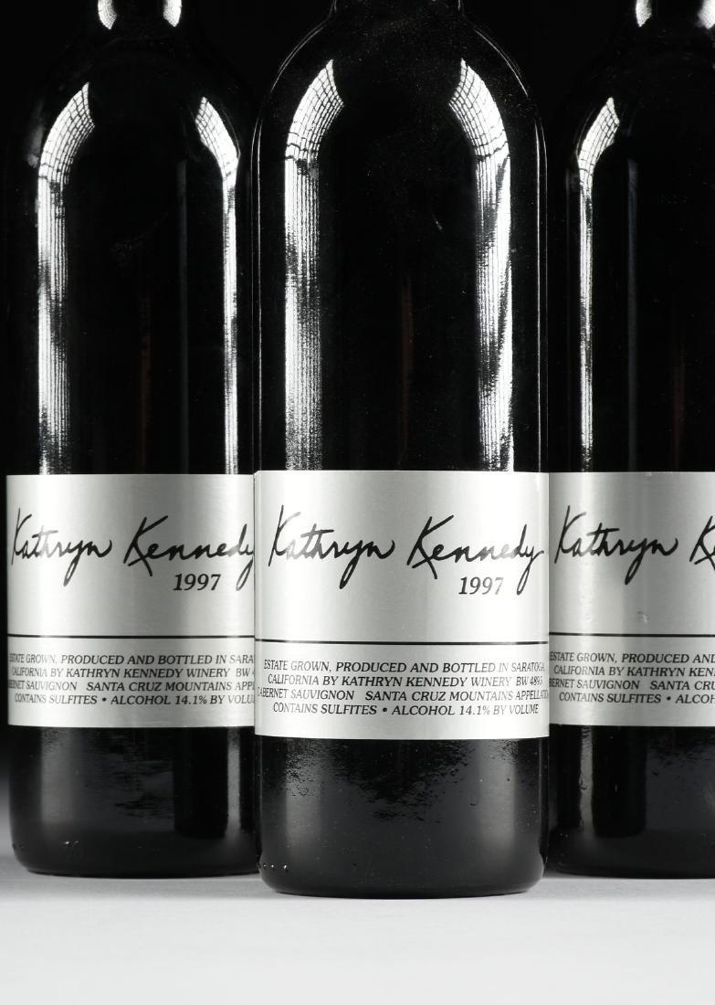 A GROUP OF THREE BOTTLES OF 1997 KATHRYN KENNEDY, SANTA - 2