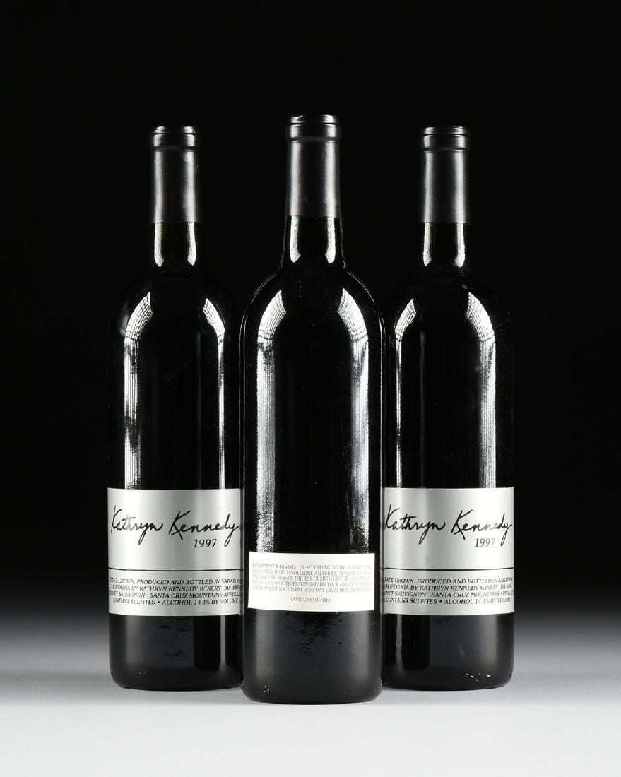 A GROUP OF THREE BOTTLES OF 1997 KATHRYN KENNEDY, SANTA - 4