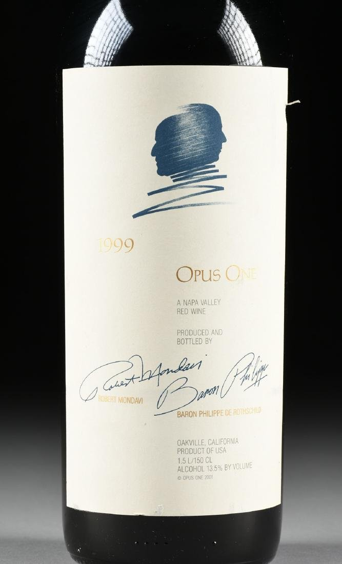 A BOTTLE OF 1999 OAKVILLE OPUS ONE,  BARON PHILIPPE DE - 2