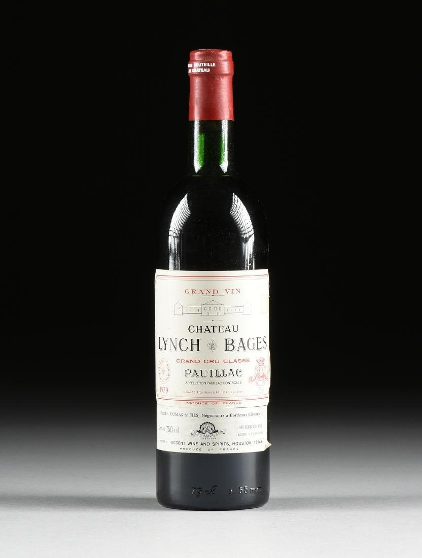 A BOTTLE OF 1979 CHATEAU LYNCH-BAGES, PAUILLAC, FRANCE,
