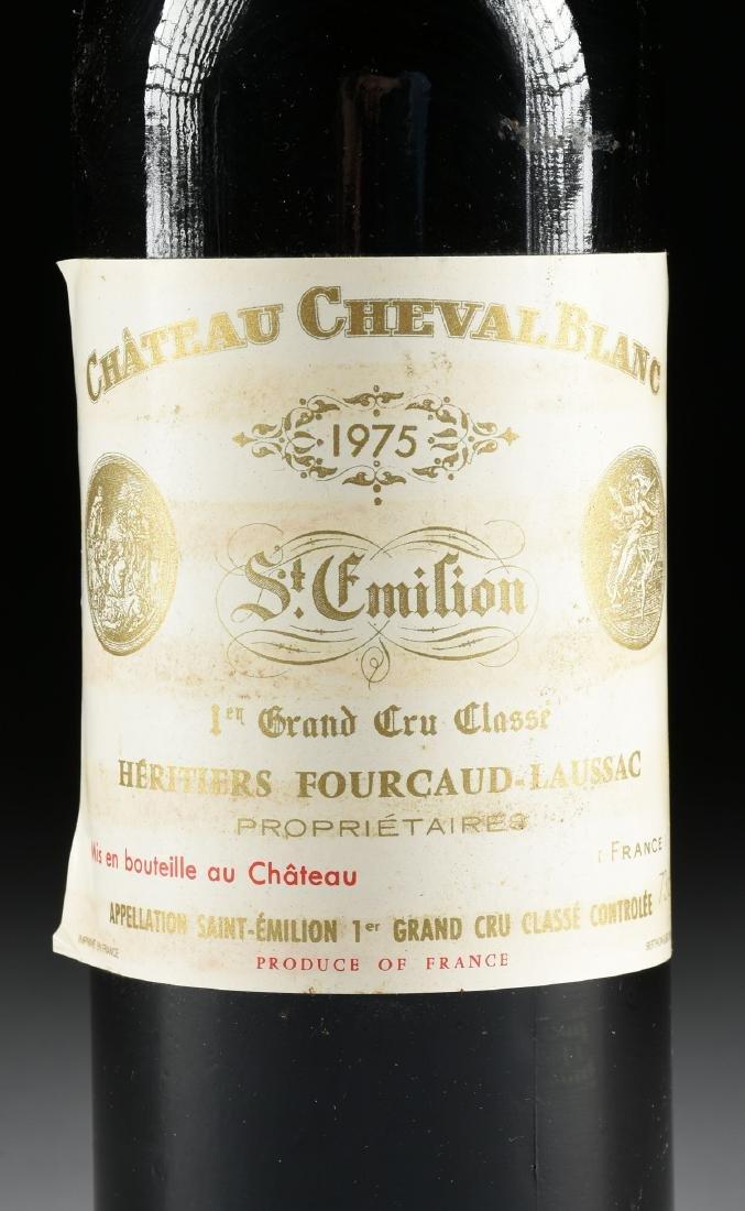 A BOTTLE OF 1975 CHATEAU CHEVAL BLANC, SAINT-EMILION - 2