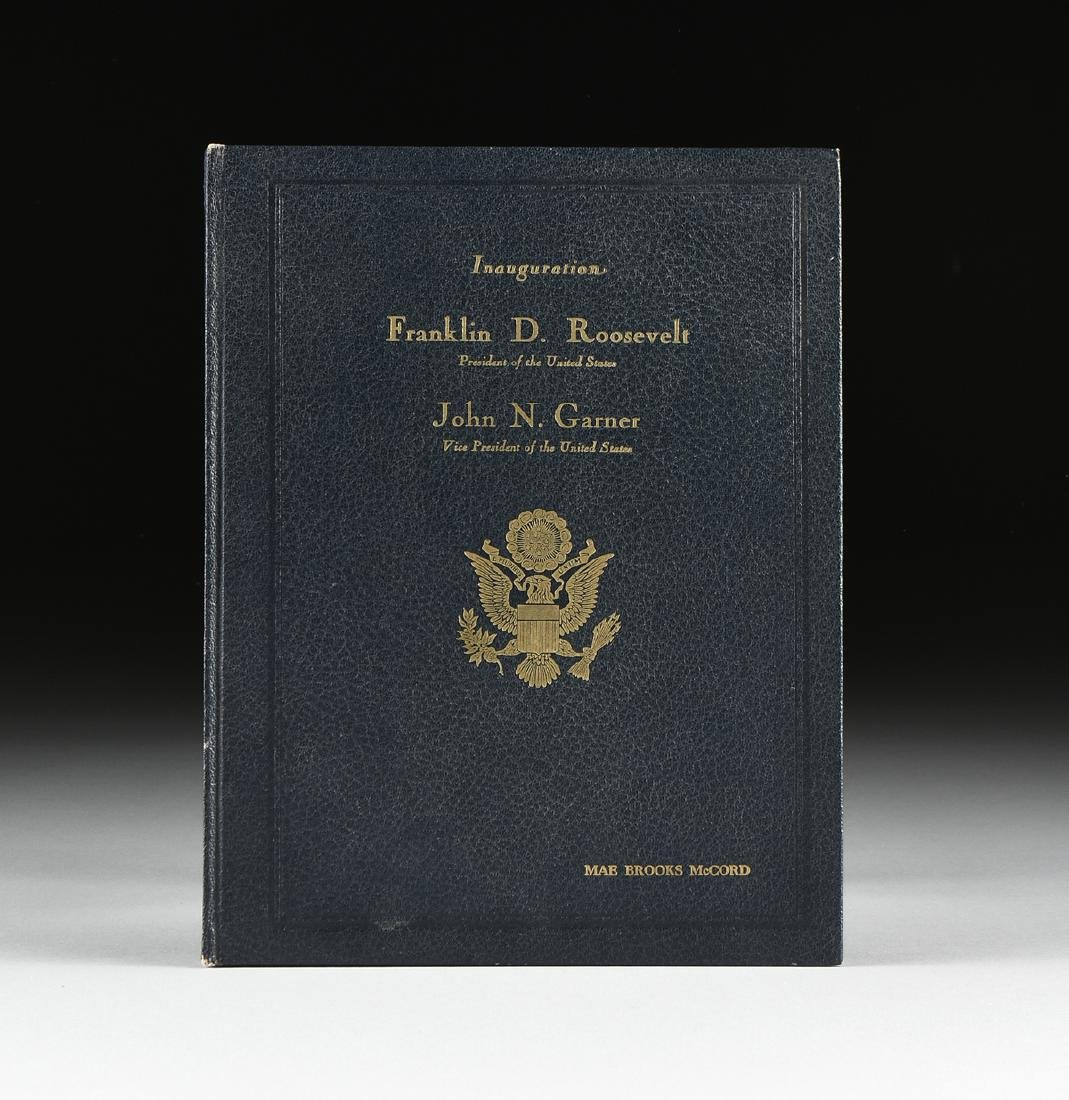 OFFICIAL PROGRAM OF THE INAUGURAL CEREMONIES INDUCTING