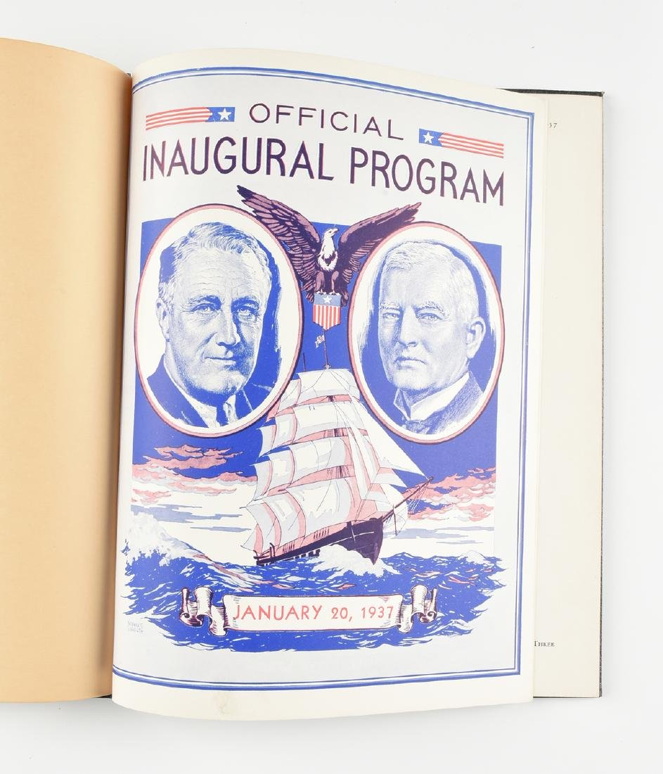 OFFICIAL PROGRAM OF THE INAUGURAL CEREMONIES INDUCTING - 3
