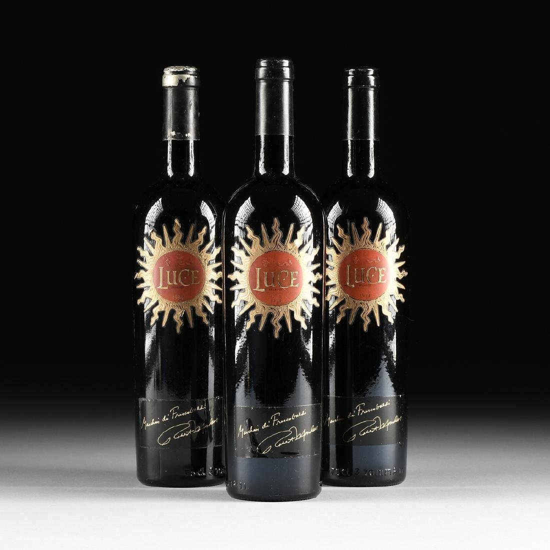 A GROUP OF THREE BOTTLES OF 1994 LUCE DELLA VITE,