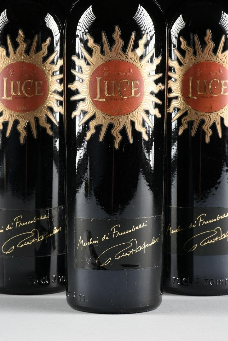 A GROUP OF THREE BOTTLES OF 1994 LUCE DELLA VITE, - 2
