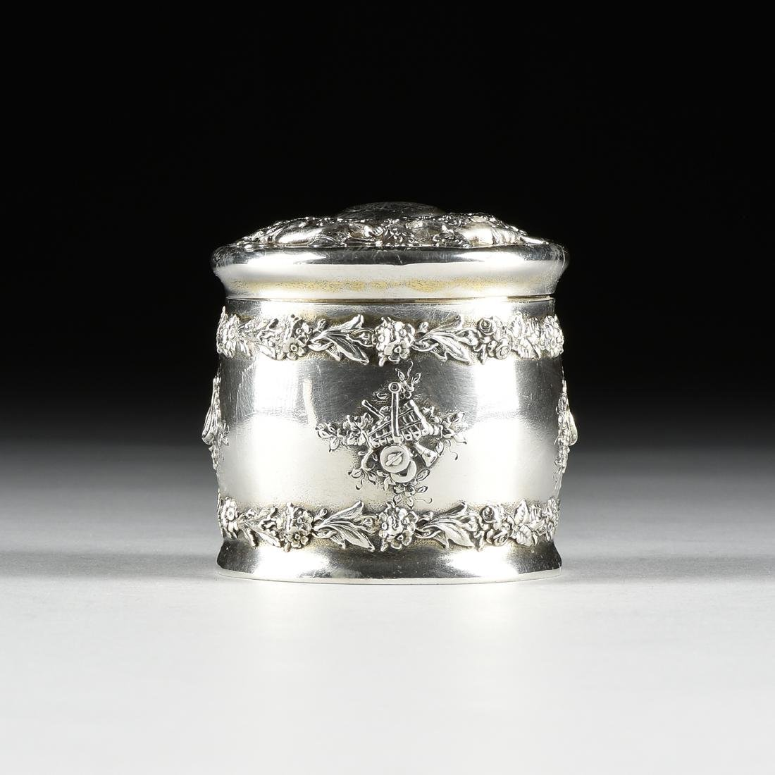 A TIFFANY & CO. STERLING SILVER AND SILVER GILT