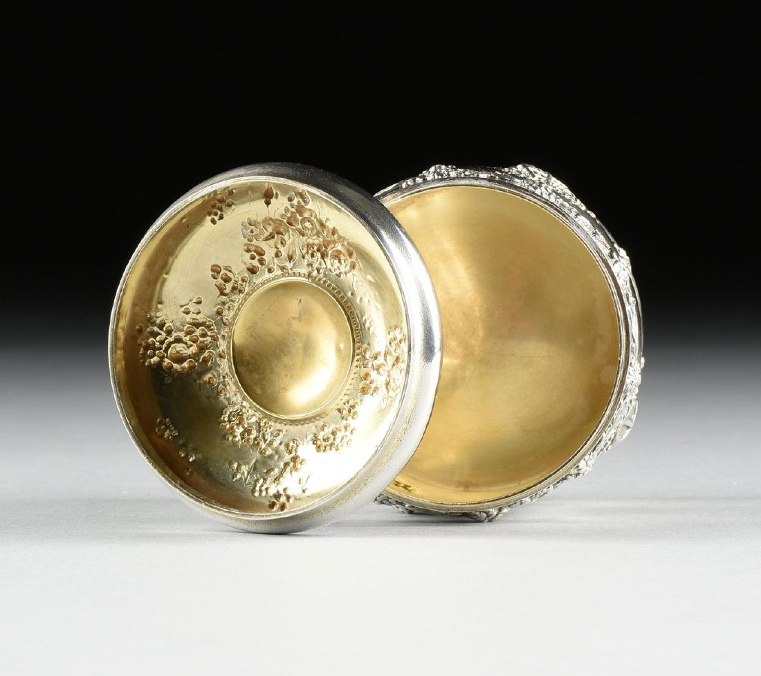 A TIFFANY & CO. STERLING SILVER AND SILVER GILT - 5