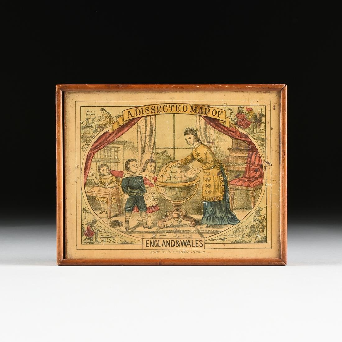 """A BOXED PEACOCK & CO. TOY JIGSAW PUZZLE, """"A DISSECTED - 2"""