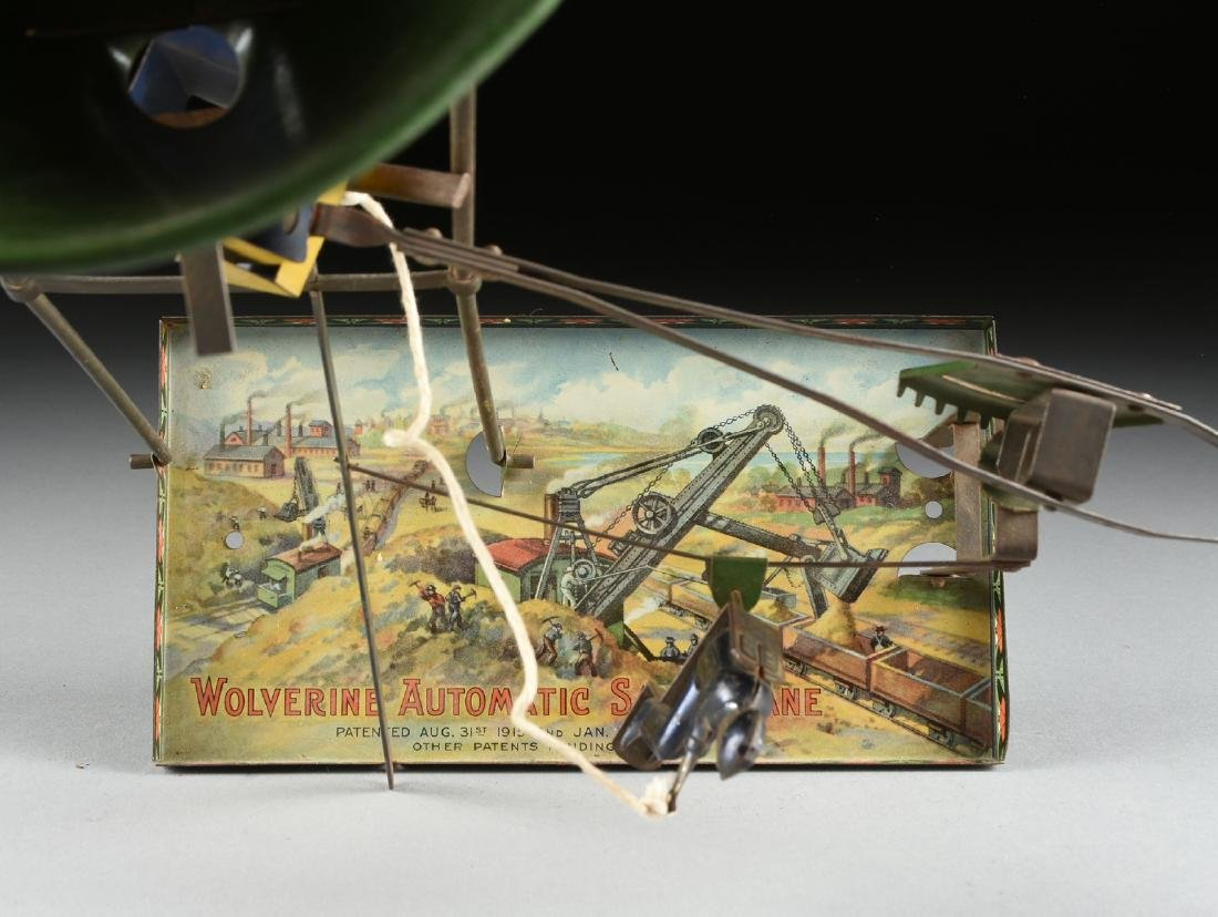 A GROUP OF SEVEN LITHOGRAPHED TIN WORKING MODEL STEAM - 5