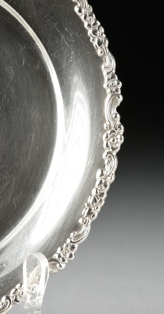 A TIFFANY & CO. STERLING SILVER PLATE, NEW YORK, NEW - 2
