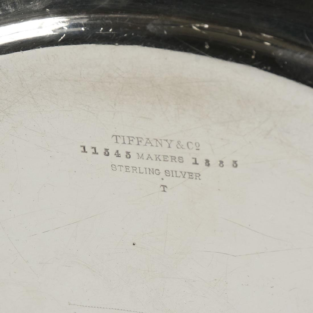 A TIFFANY & CO. STERLING SILVER PLATE, NEW YORK, NEW - 3