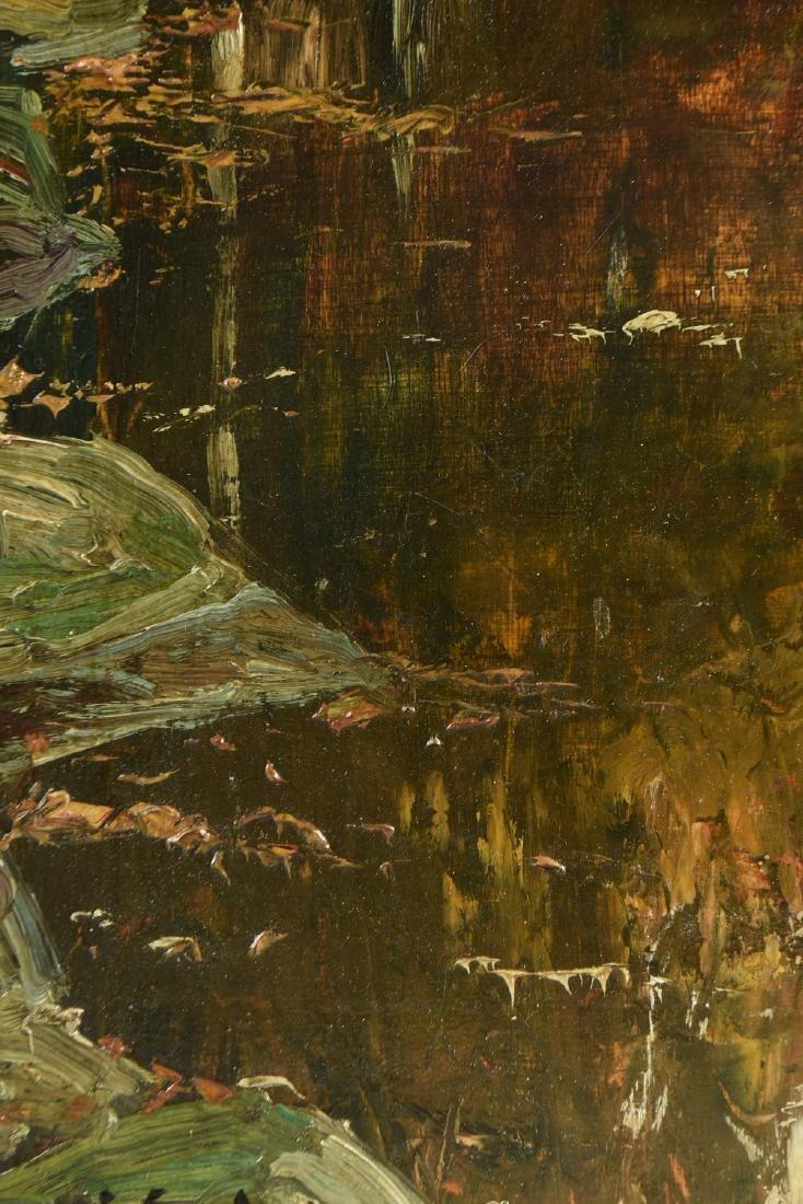 circle of PAUL SERUSIER (French 1863-1927) AN ACADEMIE - 4