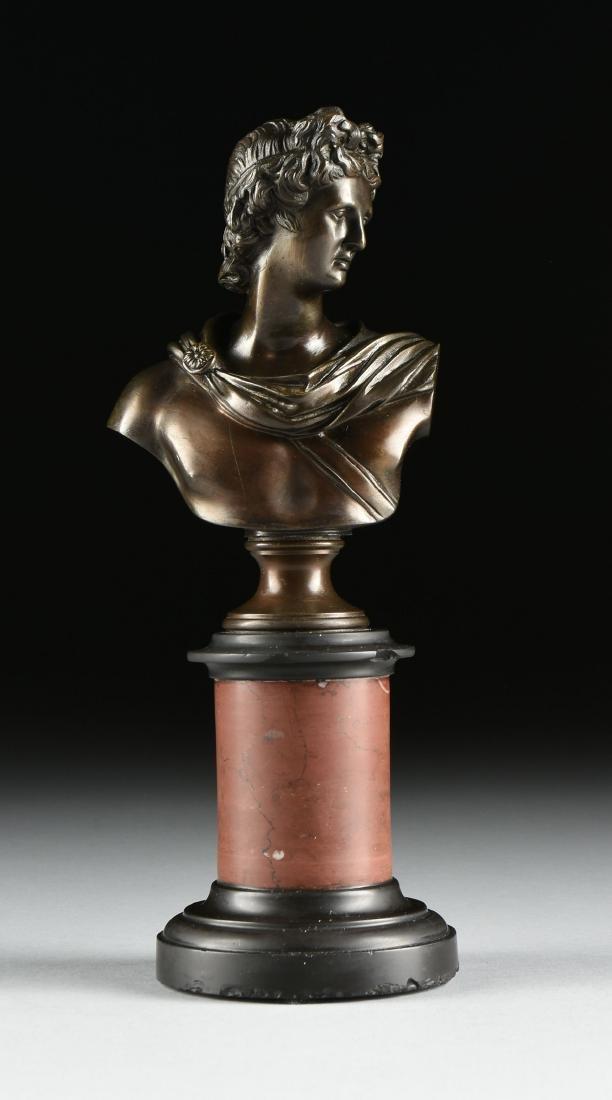 after EUGEN BORMEL (German 1858-1932) A PAIR OF BRONZES - 2
