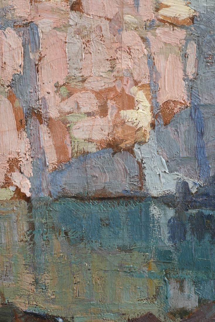 """EDGAR PAYNE (American 1883-1947) A PAINTING, """"Pink and - 7"""