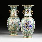 A PAIR OF VASES, MING DYNASTY (1368-1644) STYLE