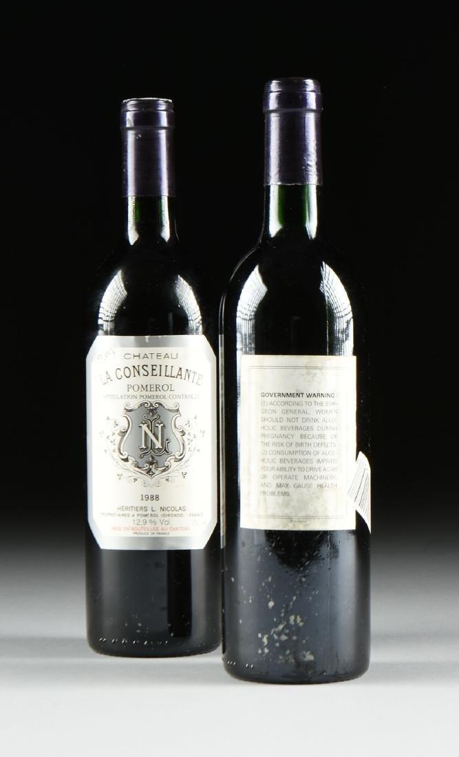TWO BOTTLES OF 1988 CHATEAU LA CONSEILLANTE, POMEROL, - 3