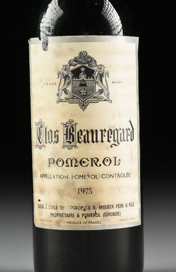 A BOTTLE OF 1975 CLOS BEAUREGARD, POMEROL, FRANCE, - 2