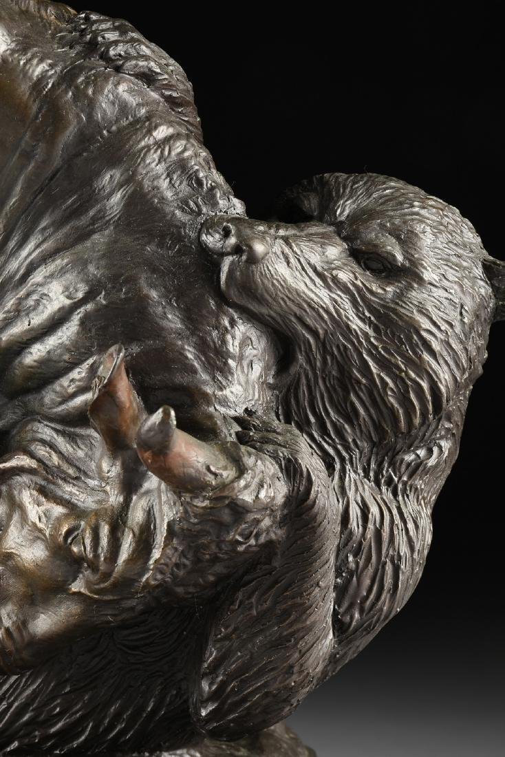 after ISIDORE JULES BONHEUR (French1827-1901) A BRONZE - 3