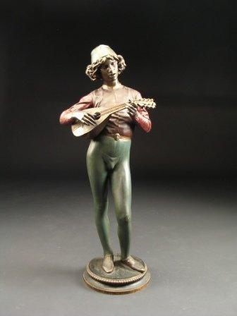 310: PAUL DUBOIS (French 1827-1905)  A BRONZE SCULPTURE
