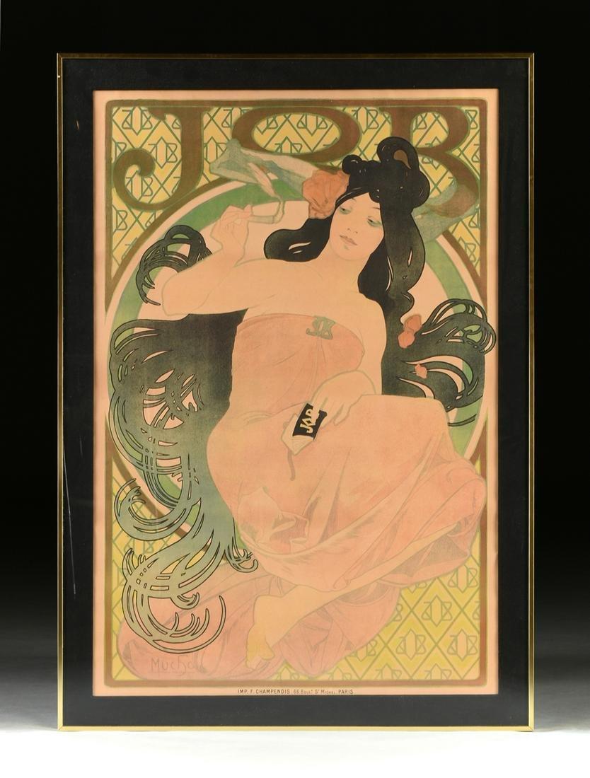 ALPHONSE MUCHA (Czechoslovakian 1860-1939) AN ART