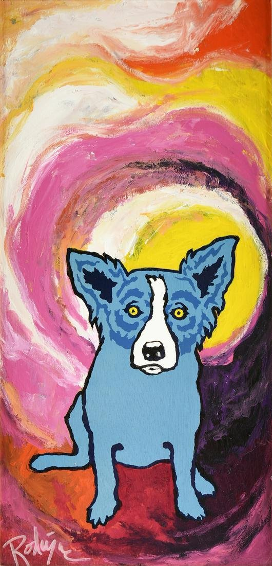 GEORGE RODRIGUE (American/Louisiana 1944-2013) A
