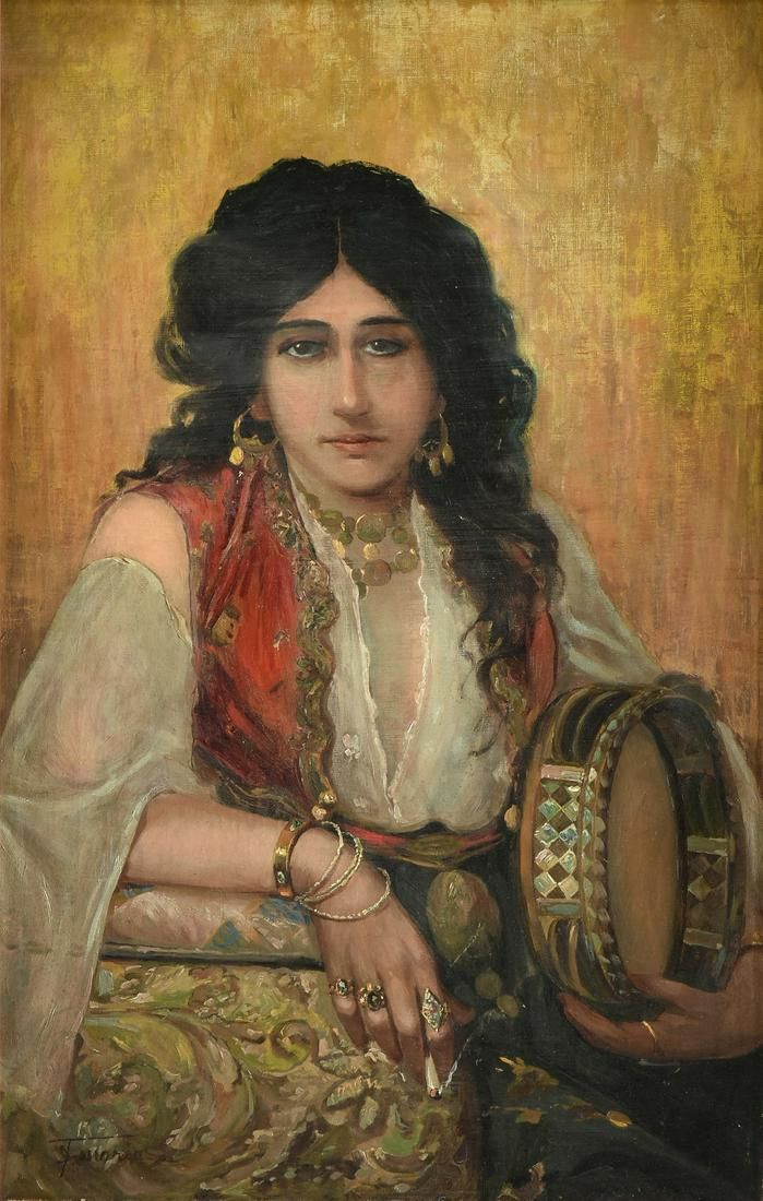 attributed to FRANCESCO DE MARIA (Italian 1845-1908) A