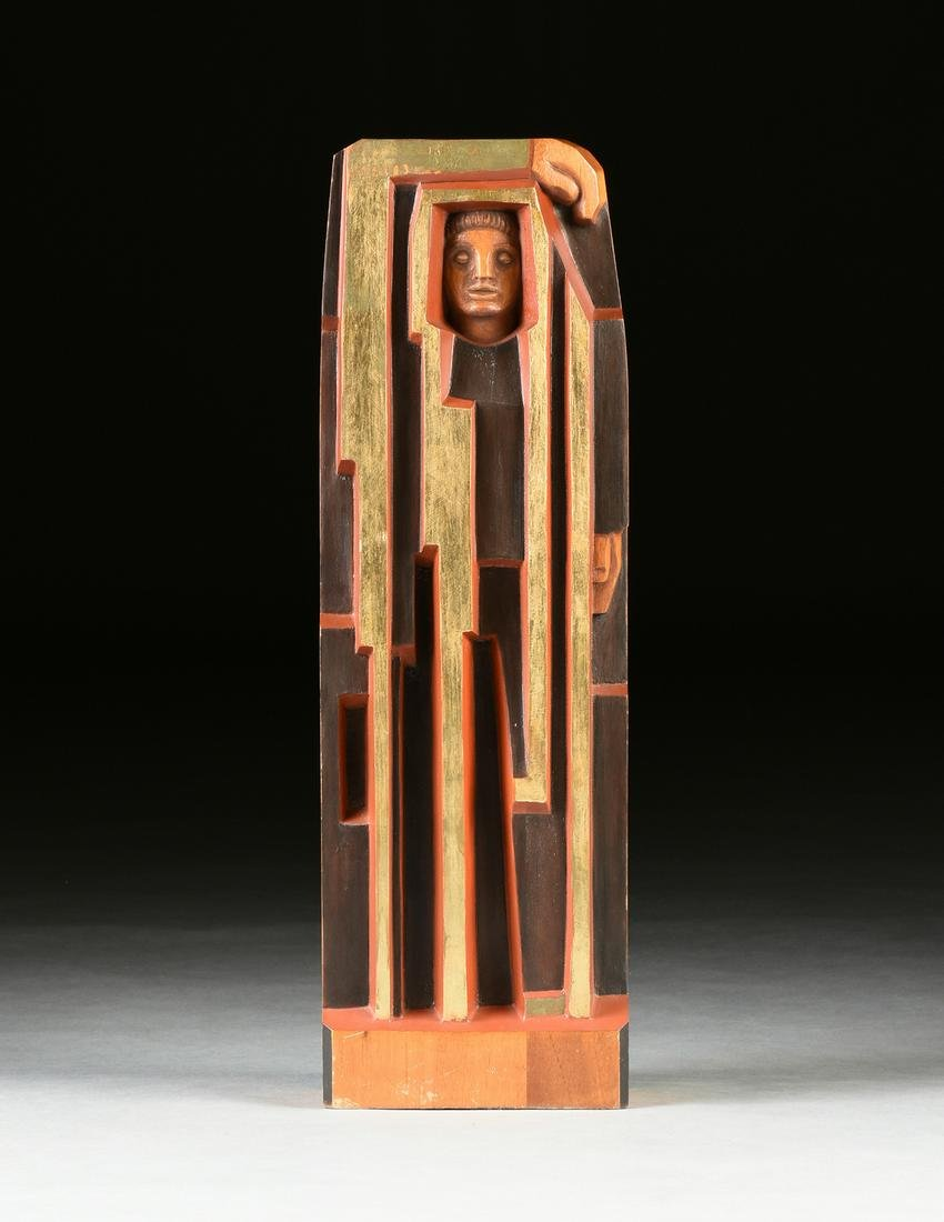 FELIPE CASTAÑEDA (Mexican b. 1933) A SCULPTURE,