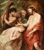 after PETER PAUL RUBENS (Flemish 1577-1640) A PAINTING,