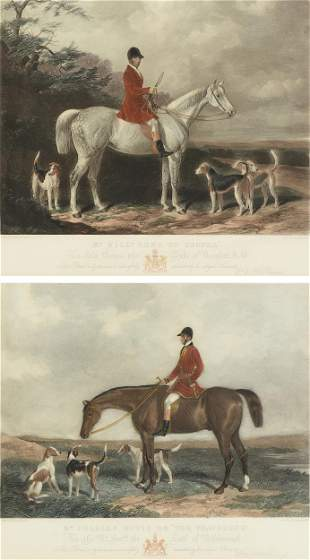 after WILLIAM BARRAUD (English 1810-1850) and HENRY