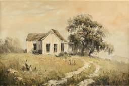 DALHART WINDBERG (American/Texas B.1933) A PAINTING,