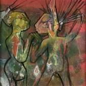 ROBERTO MATTA (Chilean 1911-2002) A PAINTING,