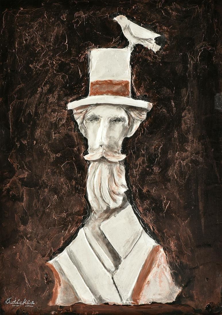 DAVID ADICKES (American/Texas b. 1927) A PAINTING IN