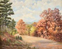 NORMA LOUISE ALCOTT KNIGHT (American/Texas 1910-2005) A
