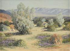 "CARL SAMMONS (American 1883-1968) A PAINTING, ""Purple"