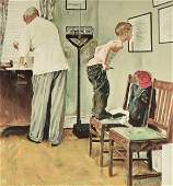 NORMAN ROCKWELL (American 1894-1978) A SATURDAY EVENING