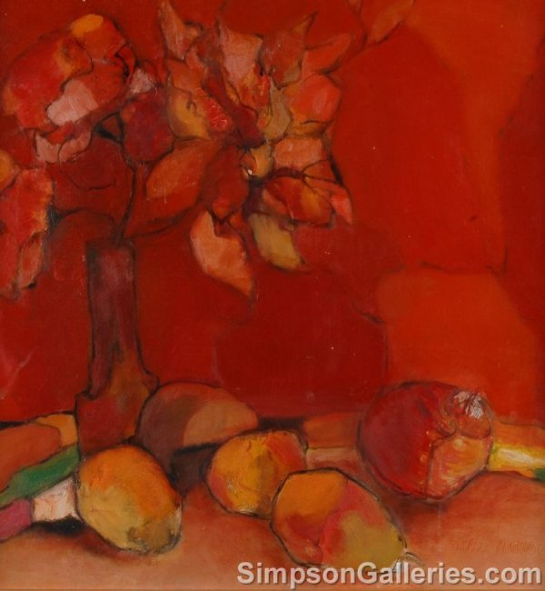 12: TRUDY SWEEN (American/Texas 20th Century)  A PAINTI