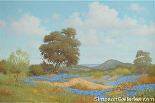 JOE G. RUSSELL (American 20th Century) A PAINTING,
