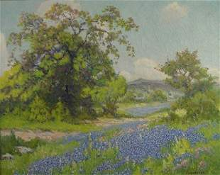 PETER LANZ HOHNSTEDT (American/Texas 1872-1957) A