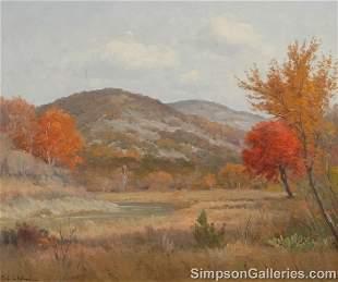 PORFIRIO SALINAS (American/Texas 1910 - 1973) A PA