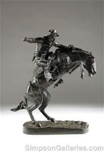 290: FREDERIC REMINGTON (American 1861 - 1909)  A BRONZ